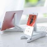 모던오피스 아이패드 태블릿 핸드폰 휴대용 접이식 풍성 거치대 CA445