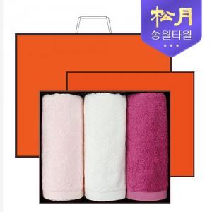 [송월타올] 송월 솔리드뱀부얀 210g 3P 타올세트