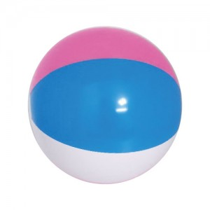 [소]3색 비치볼-핑크