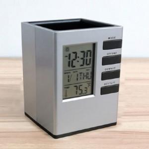 모던오피스 사각 시계겸용 필수 연필꽂이 CA164가격:8,910원