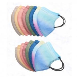 국내제작 4중구조 2D 컬러 마스크 새부리형 (50매)가격:49,500원