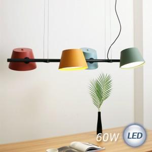 LED 엔젤 지그재그 4등 펜던트 60W가격:250,000원
