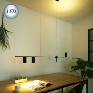 트리플 3등 펜던트 (블랙) [ LED GU10 x 3ea 포함 ]가격:120,000원