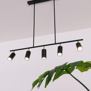 포텐 5등 펜던트 (블랙) ( LED GU10 사용 )가격:150,000원